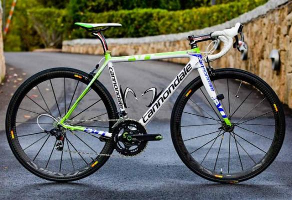 Liquigas Cannondale SuperSix Evo
