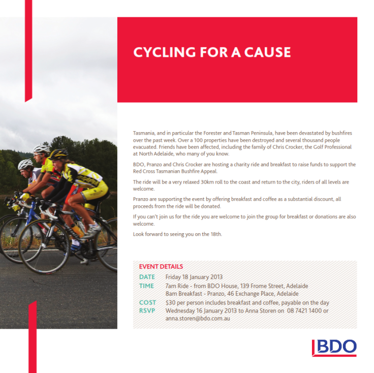 cycle for bushfire