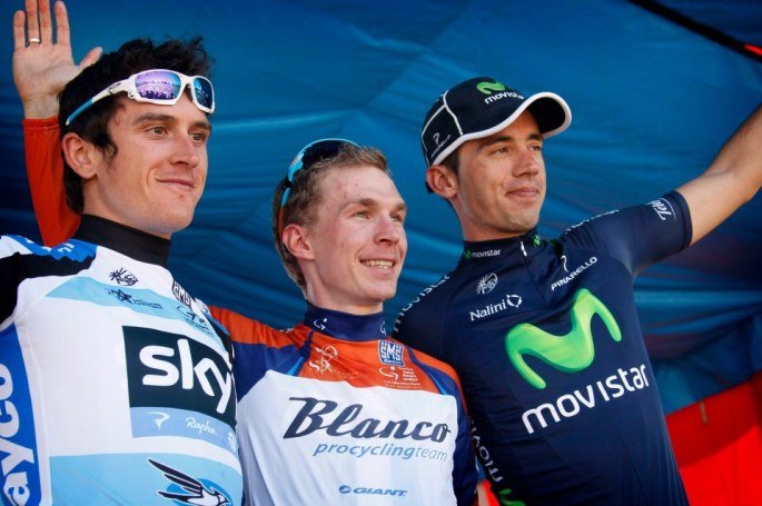Geraint Thomas, Tom Slagter, Javi Moreno