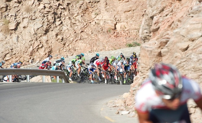 Peter Sagan (Cannondale) wins Tour of Oman Day 2 Stage 2 Fanja in Bidbid to Al Bustan.© Lloyd Images.............