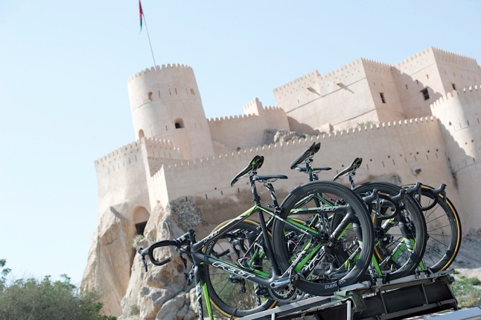 Peter Sagan (Cannondale) wins Tour of Oman Day 3 stage 3 Nakhal Fort to Wadi Dayqah Dam.© Lloyd Images..............