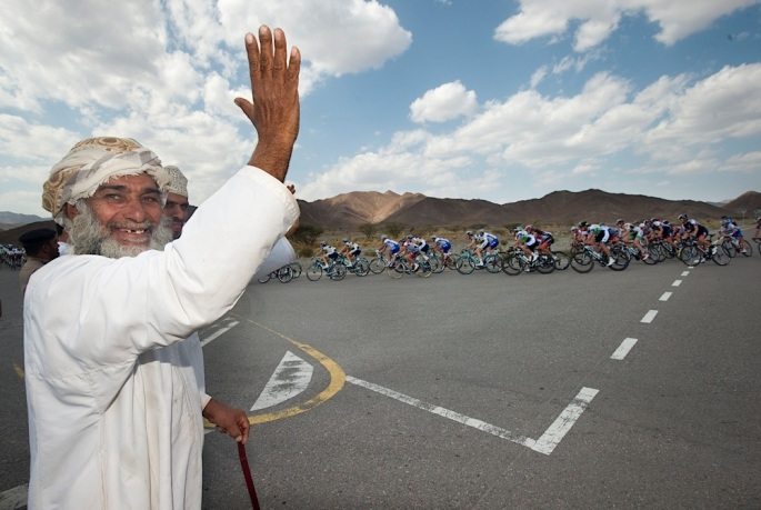130214 Tour of Oman Day 4 Stage 4 Al Saltiyah in Samail to half way up Jabal Al Akhdhar (The Green Mountain).© Lloyd Images.................