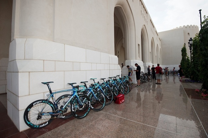 130215 Tour of Oman Day 5 Stage 5 Al Alam Palace to the Ministry of Housing in Boshar.© Lloyd Images...................