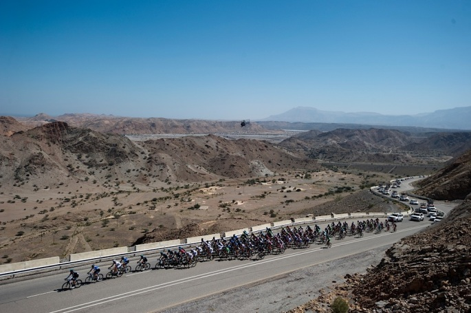 130216 Tour of Oman Day 6 Stage 6 Hawit Nagam Park to the Matrah Corniche.© Lloyd Images...................