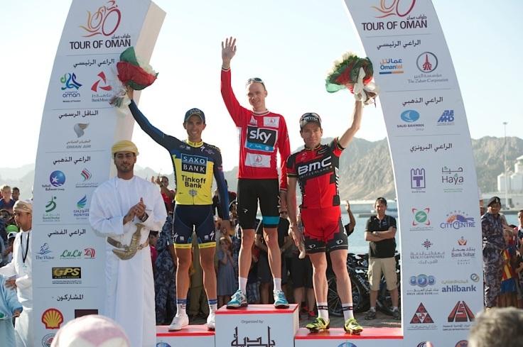 2:Contador; 1: Froome; 3:Evans