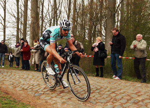Tom Boonen - 2012 Champion - out following Flanders crash