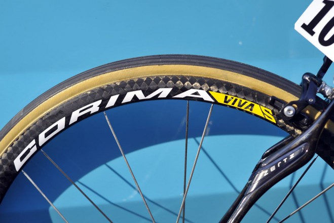 corima delivered these special viva s wheels which feature a wider strong rim