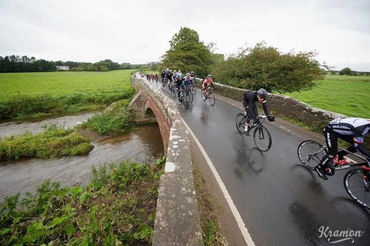 crossing the river Tour of Britain stage 2: Carlisle to Kendal (187km)