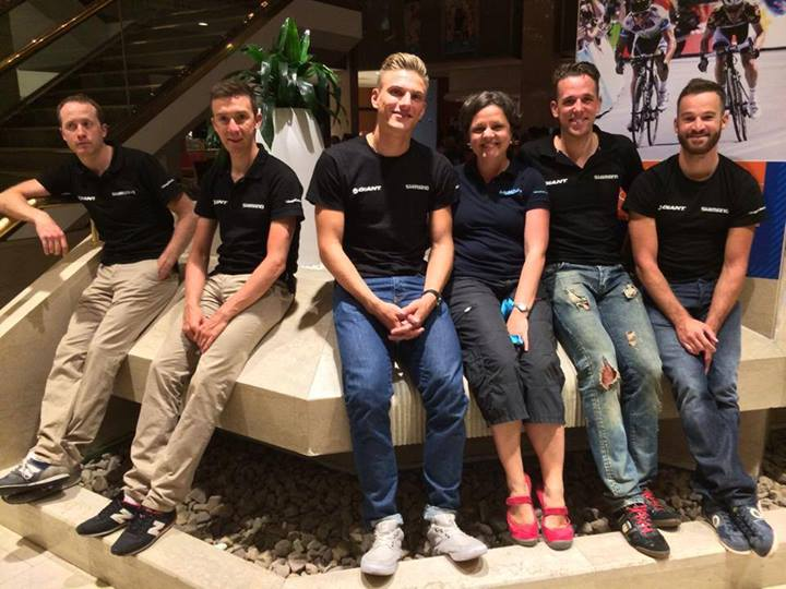 marcel kittel and his team