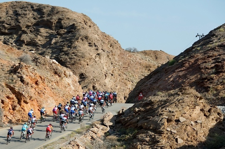 Peter Sagan (Cannondale) wins Tour of Oman Day 2 Stage 2 Fanja in Bidbid to Al Bustan.© Lloyd Images.............
