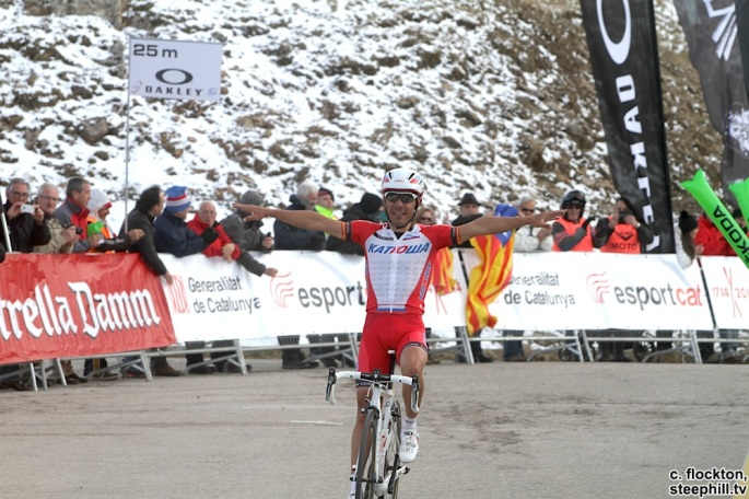 Purito Rodriguez wins Volta Catalunya stage 3