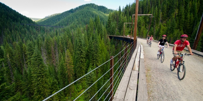 Northern Rockies Bike Tour - Hiawatha Trail