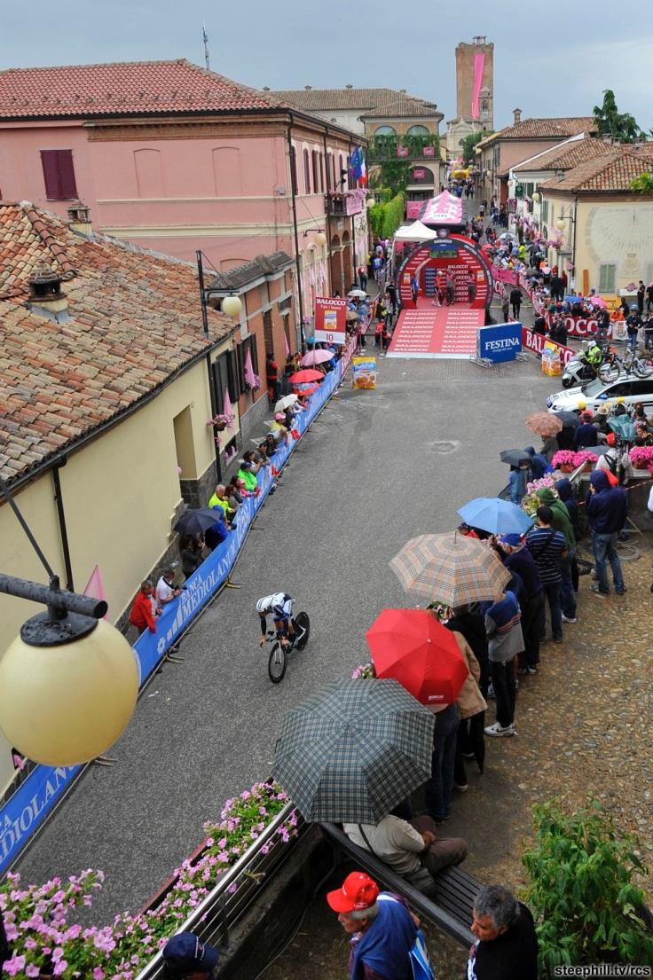 Giro d'Italia 2014, tappa 12 - Cronometro individuale - Barbaresco - Barolo