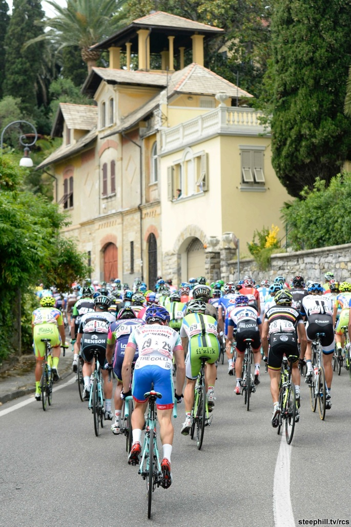 Giro d'Italia 2014, tappa 11: Collecchio - Savona