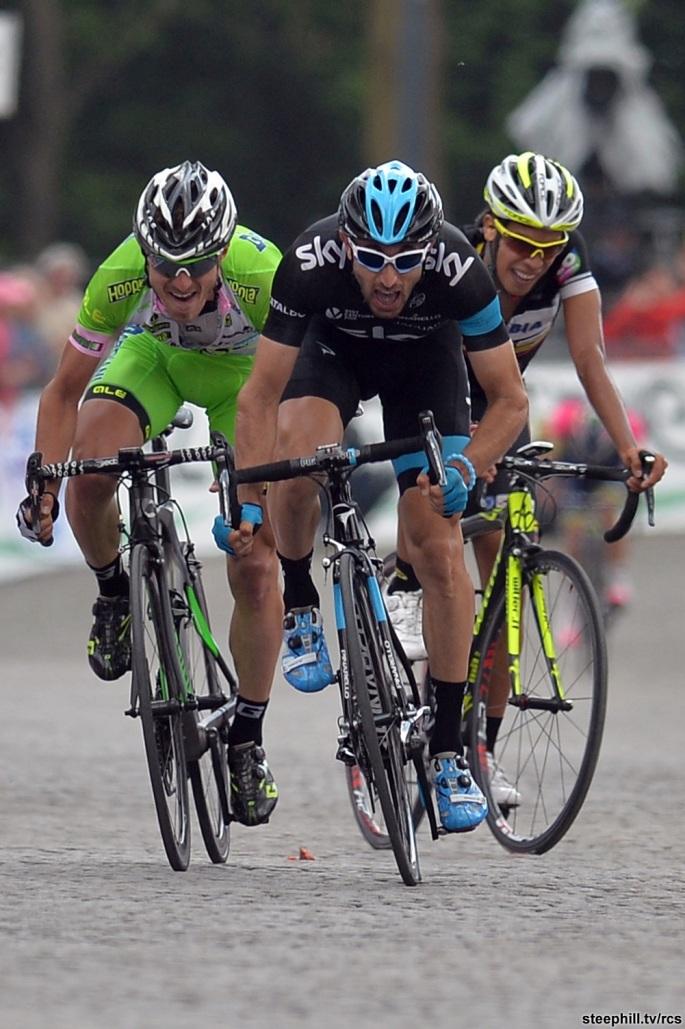 Giro d'Italia 2014 - Tappa 14 Agliè - Oropa