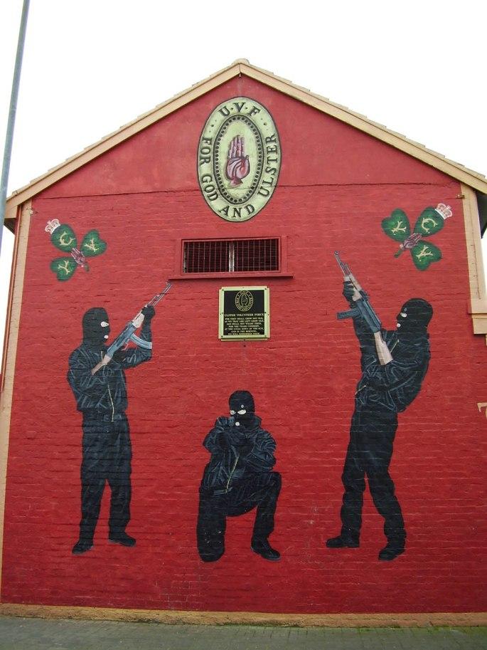 UVF 1 - Castlereagh Road, 2006