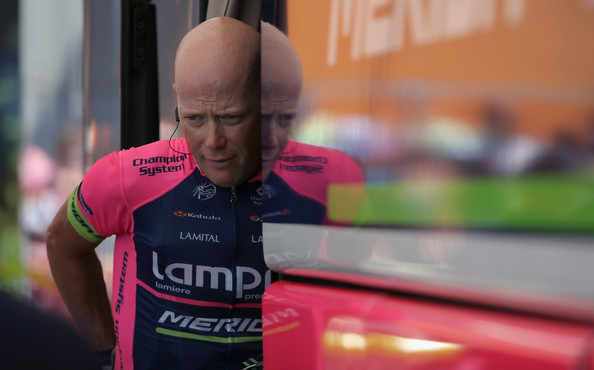 Photo: Christopher Horner, was withdrawn from the Vuelta at the last minute because of his low cortisol levels following cortisone treatment.