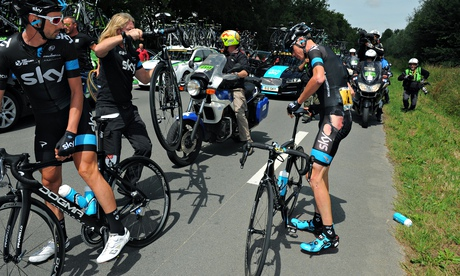 Tour de France cycling race, France - 08 Jul 2014