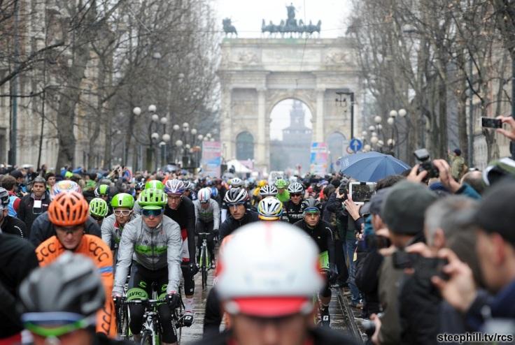 Ciclismo: Milano-Sanremo
