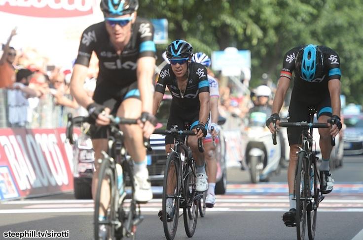 2015, Giro d'Italia, tappa 10 Civitanova Marche - Forli, Team Sky 2015, Porte Richie, Forli