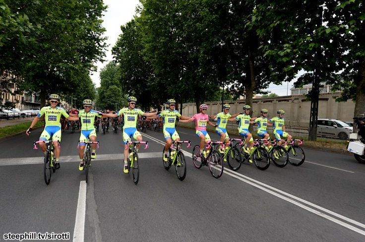2015, Giro d'Italia, tappa 21 Torino - Milano, Tinkoff - Saxo 2015, Contador Alberto