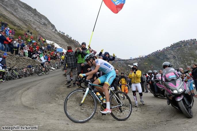 2015, Giro d'Italia, tappa 20 Saint Vincent - Sestriere, Astana 2015, Aru Fabio, Saint Vincent