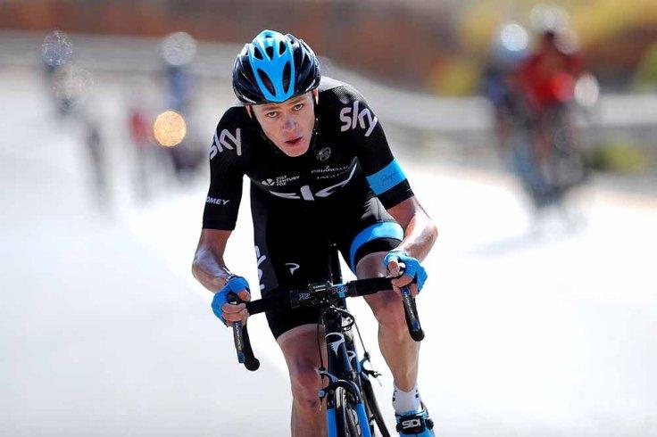 Cycling: 5th Tour of Oman 2014 / Stage 5    FROOME Christopher (GBR)/  Bidbid - Jabal Al Akhdhar / Green Mountain (147,5Km)/  Rond Etape Rit /(c) Tim De Waele