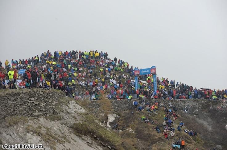 2015, Giro d'Italia, tappa 20 Saint Vincent - Sestriere, Colle delle Finestre