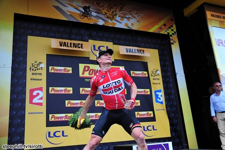 2015, Tour de France, tappa 15 Mende - Valence, Lotto Soudal 2015, Greipel Andre, Valence