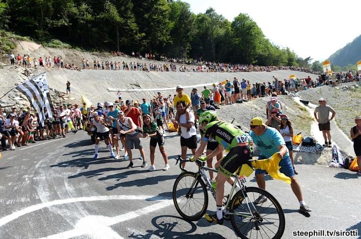 2015, Tour de France, tappa 11 Pau - Cauterets, Cannondale - Garmin 2015, Martin Daniel, Cauterets