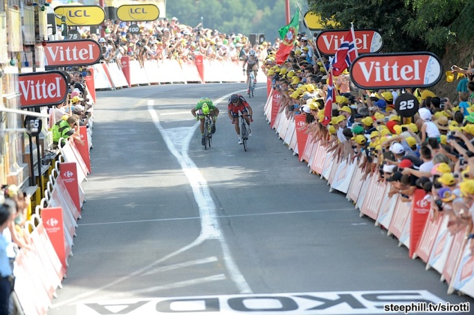 2015, Tour de France, tappa 13 Muret - Rodez, Bmc 2015, Cannondale - Garmin 2015, Van Garderen Tejay, Sagan Peter, Rodez