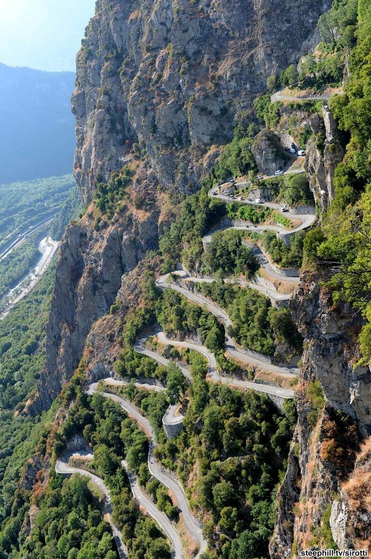 2015, Tour de France, tappa 18 Gap - Saint Jean de Maurienne, Lacets de Montvernier