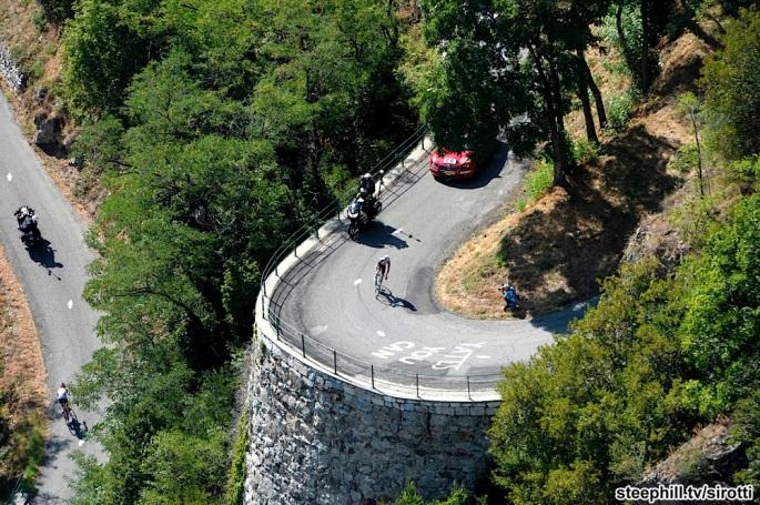 2015, Tour de France, tappa 18 Gap - Saint Jean de Maurienne, Ag2r La Mondiale 2015, Bardet Romain, Lacets de Montvernier