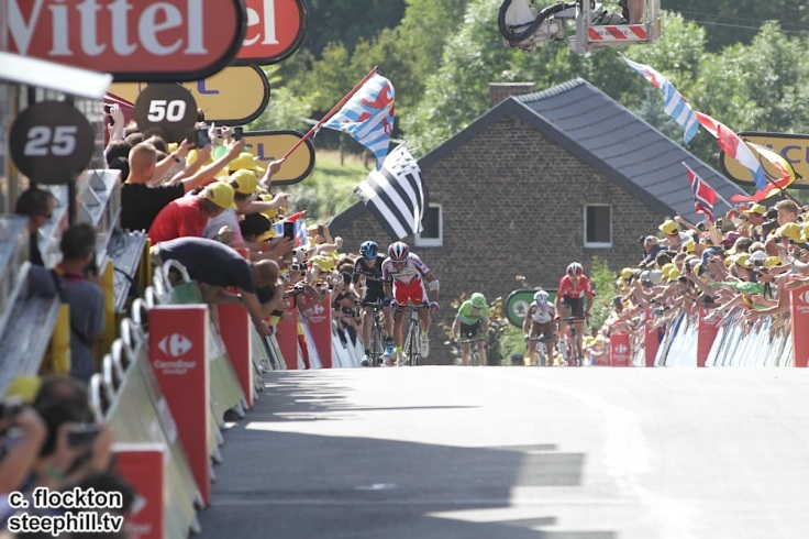 Rodriguez leads Froome to win the stage