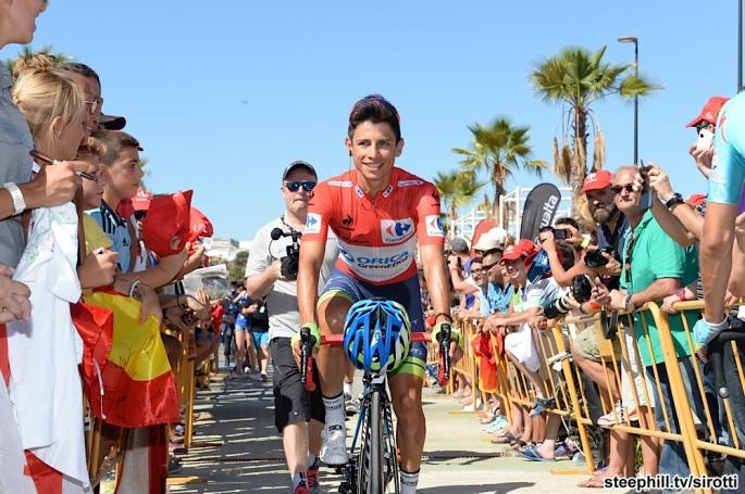 2015, Vuelta a Espana, tappa 04 Estepona - Vejer de la Frontera, Orica GreenEdge 2015, Chaves Rubio Johan Estaban, Estepona