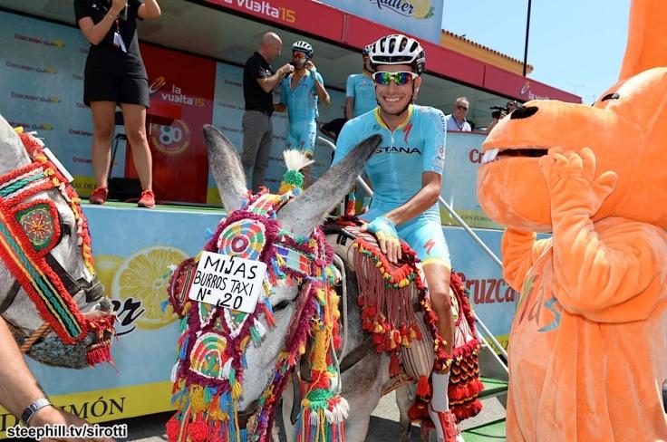 2015, Vuelta a Espana, tappa 03 Mijas - Malaga, Astana 2015, Aru Fabio, Mijas