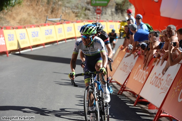 2015, Vuelta a Espana, tappa 02 Alhaurin de la Torre - Caminito del Rey, Orica GreenEdge 2015, Chaves Rubio Johan Estaban, Caminito del Rey