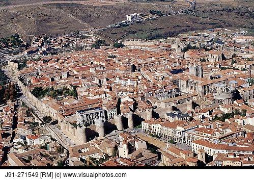 aerial-view-of-avila-castilla-y-leon-spain