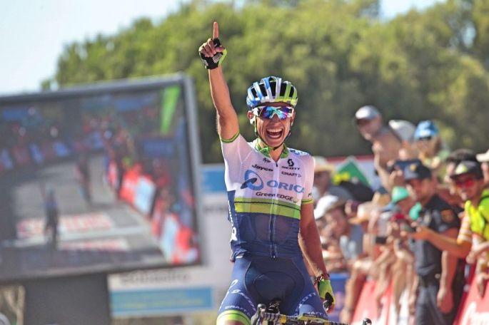 Johan-Esteban-Chaves-Orica-GreenEDGE-2015-Vuelta-a-Espana-stage-two-pic-Sirotti-1020x680