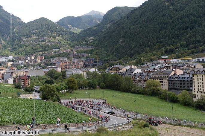 2015, Vuelta a Espana, tappa 11 Andorra La Vella - Cortals d' Encamp, Collada de Beixalis