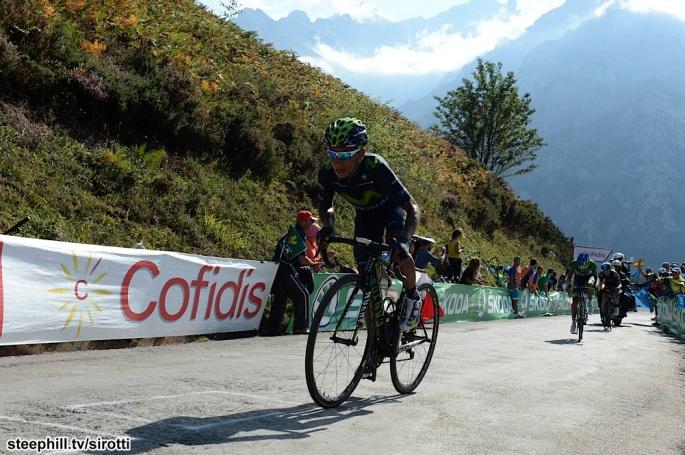 2015, Vuelta a Espana, tappa 15 Comillas - Sostres Cabrales, Movistar 2015, Quintana Rojas Nairo Alexander, Sostres Cabrales