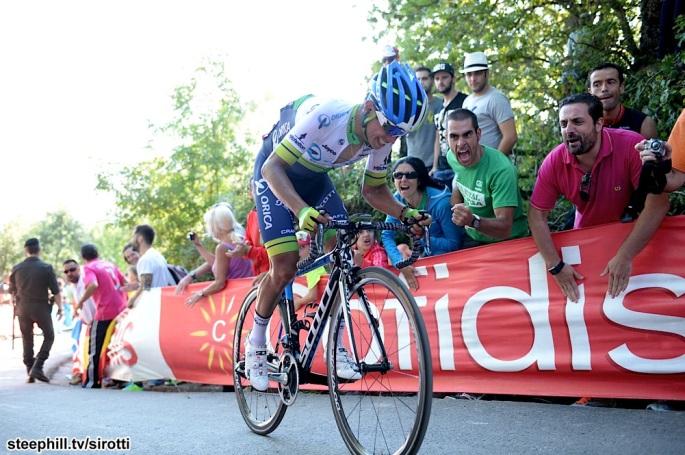 2015, Vuelta a Espana, tappa 16 Luarca - Ermita de Alba, Orica GreenEdge 2015, Chaves Rubio Johan Estaban, Ermita de Alba