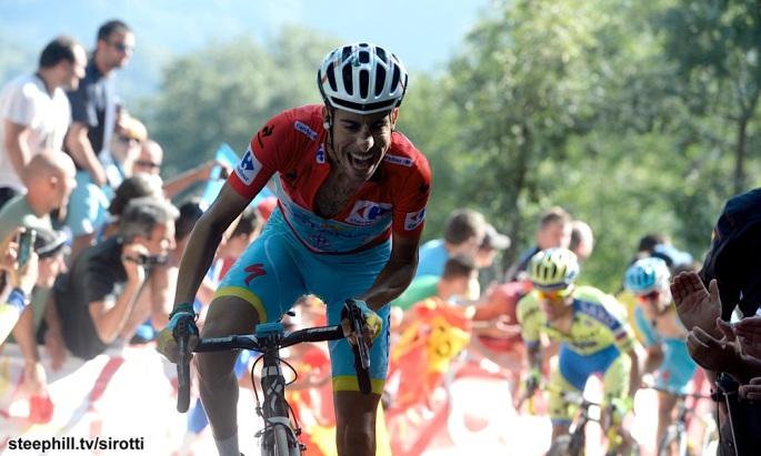 2015, Vuelta a Espana, tappa 16 Luarca - Ermita de Alba, Astana 2015, Aru Fabio, Ermita de Alba