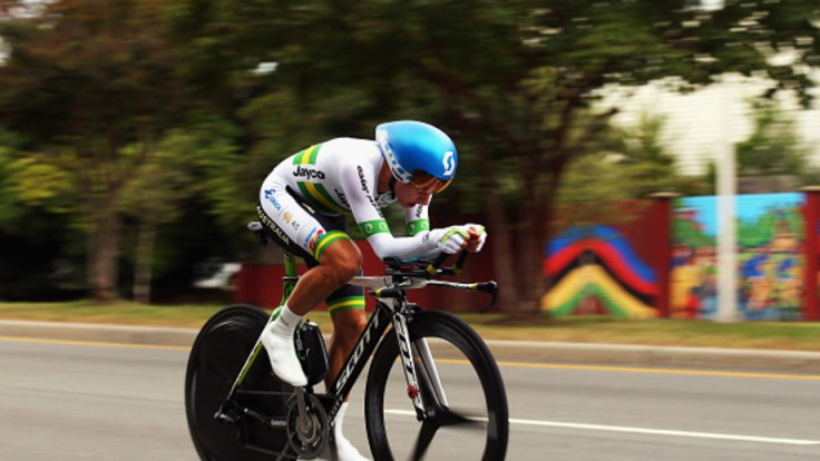 RICHMOND, VA - SEPTEMBER 22: Katrin Garfoot of Australia in action during the Women's Elite Individual Time Trial on day three of the UCI Road World Championships on September 22, 2015 in Richmond, Virginia. (Photo by Bryn Lennon/Getty Images)