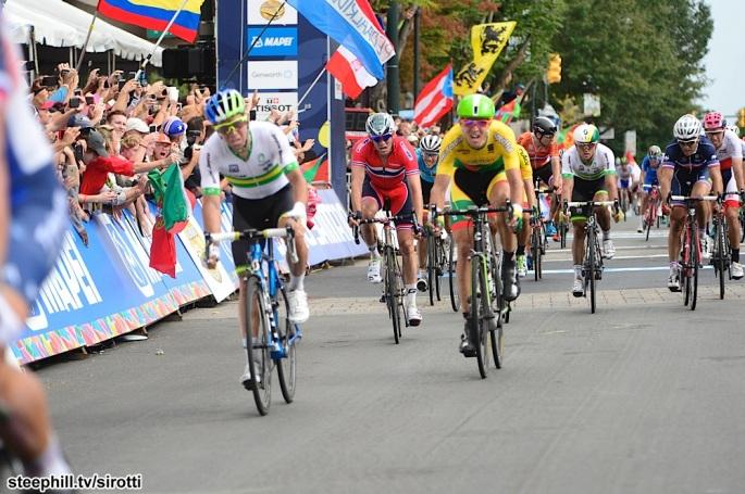 2015, World Championships elite, Orica GreenEdge 2015, Cannondale - Garmin 2015, Matthews Michael, Navardauskas Ramunas, Richmond