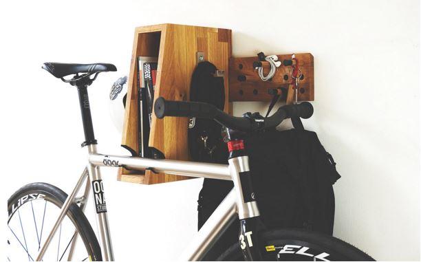 """OONA """"BERLIN PLUS"""" Wooden Bicycle Shelf 3"""