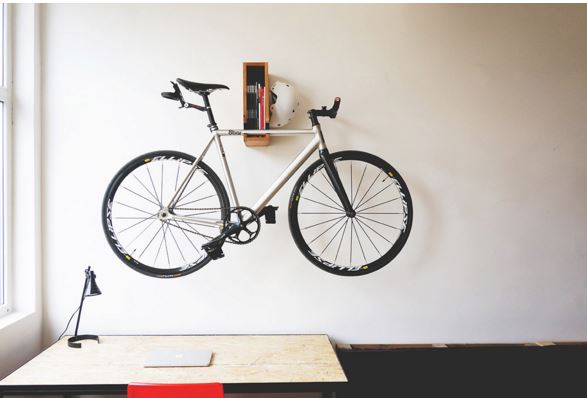 "OONA ""BERLIN"" Wooden Bicycle Shelf 2"