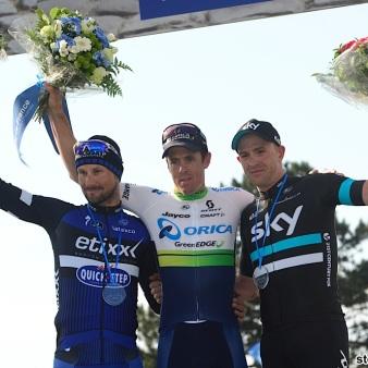 10-04-2016 Paris - Roubaix; 2016, Orica Greenedge; 2016, Etixx - Quick Step; 2016, Team Sky; Hayman, Michael Mathew; Boonen, Tom; Stannard, Jan; Roubaix;