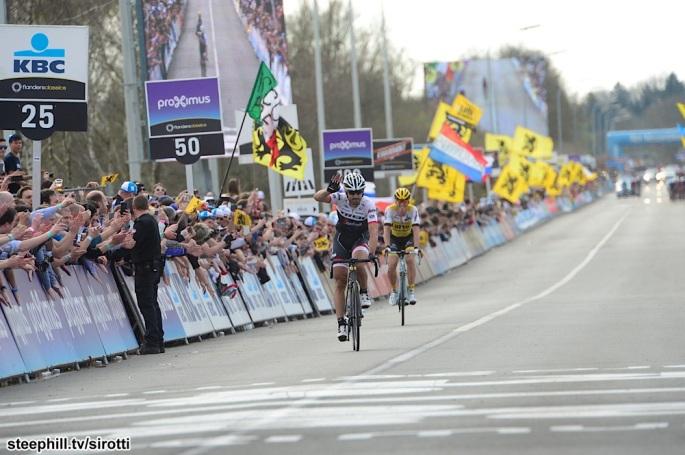 03-04-2016 Tour Des Flandres; 2016, Trek Factory Racing; Cancellara, Fabian; Oudenaarde;