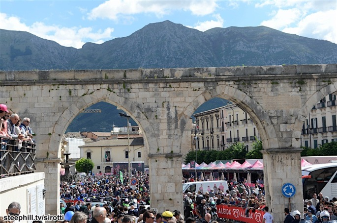 13-05-2016 Giro D'italia; Tappa 07 Sulmona - Foligno; Sulmona;